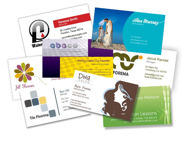 Custom gloss coated full colour business cards cresta gauteng design your own business cards with our free and easy to use business card designer reheart