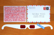 3D glasses invitation